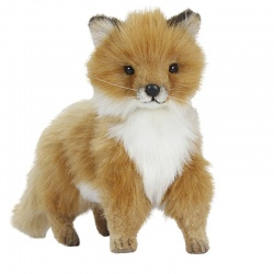 Hansa Fox Baby Standing Plush Soft Toy Animal